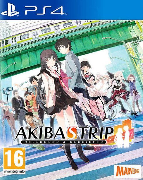 Akiba's Trip Hellbound & Debriefed  PS4  offre à 39,99€