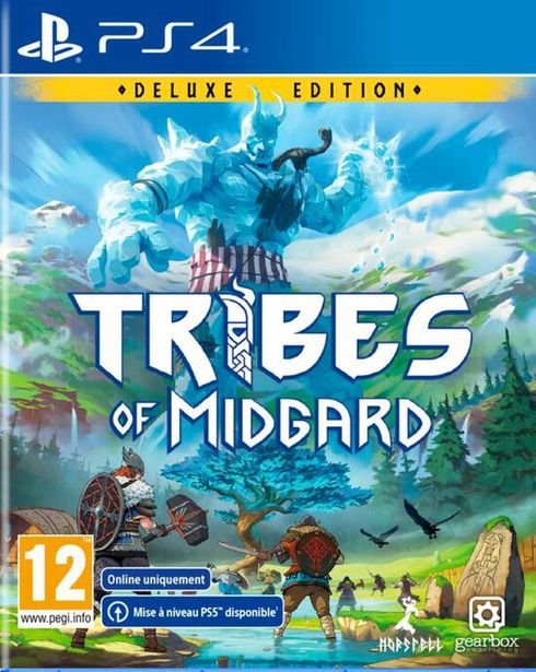 Tribes Of Midgard  PS4  offre à 34,99€
