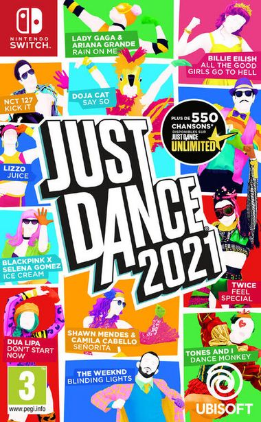 Just Dance 2021  SWITCH  offre à 39,99€