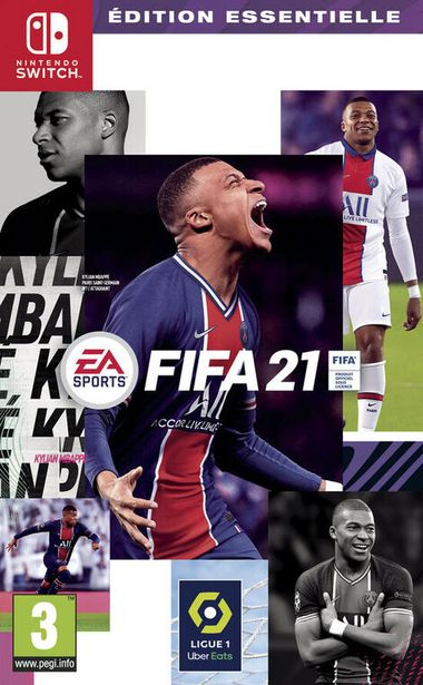 FIFA 21  SWITCH  offre à 49,99€