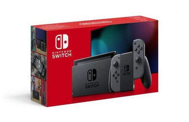 Nintendo Switch 1.1 Avec Une Paire De Joy-con Gris   offre à 329,99€