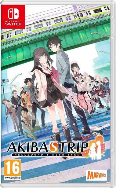 Akiba's Trip Hellbound & Debriefed  SWITCH  offre à 39,99€