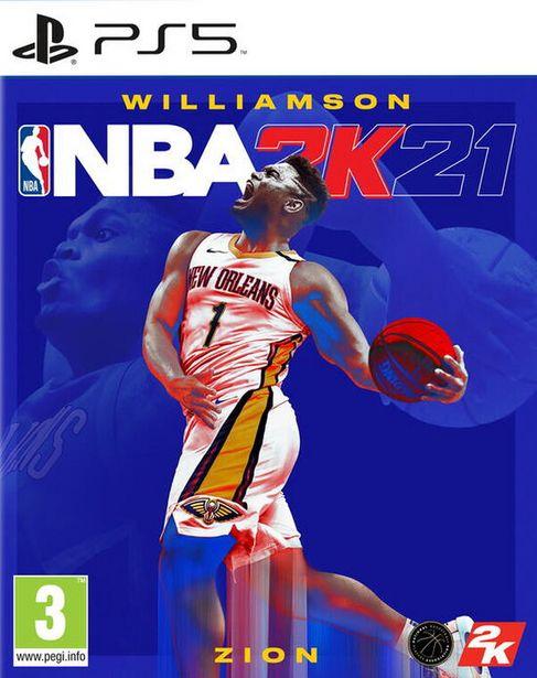 NBA 2k21  PS5  offre à 19,99€