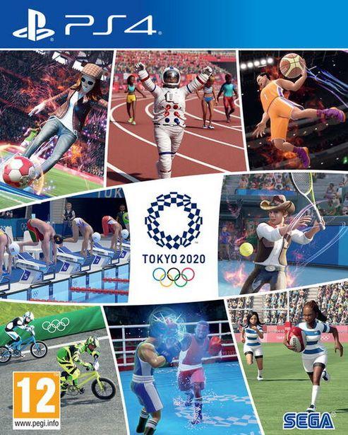 Jeux Olympiques De Tokyo 2020 Le Jeu Vidéo Officiel  PS4  offre à 39,99€