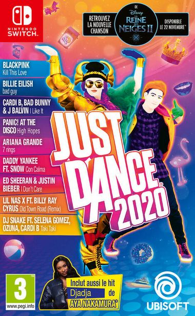 Just Dance 2020  SWITCH  offre à 29,99€