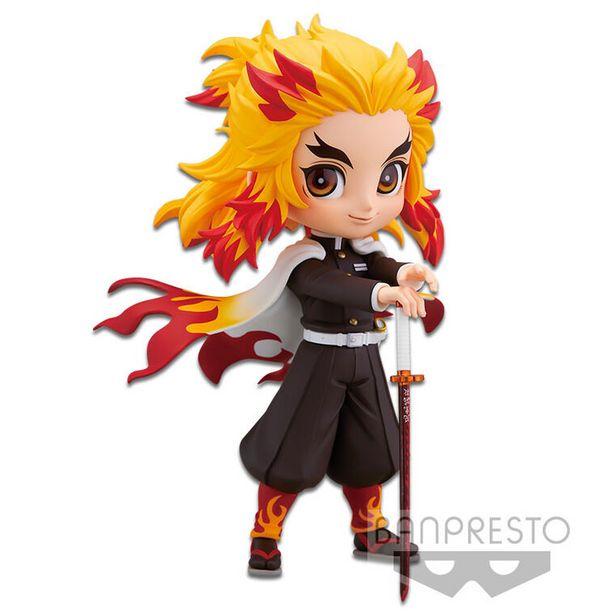 Figurine - Demon Slayer - Kimetsu No Yaiba Q Posket - kyojuro Rengoku (version A)   offre à 26,99€