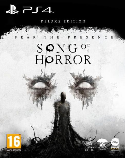 Song Of Horror  PS4  offre à 39,99€