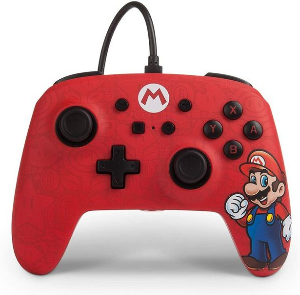 Manette Filaire Switch Mario   offre à 24,99€