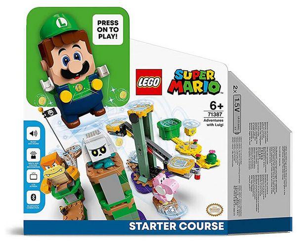 LEGO Super Mario - Pack de démarrage : les aventures de Luigi   offre à 59,99€