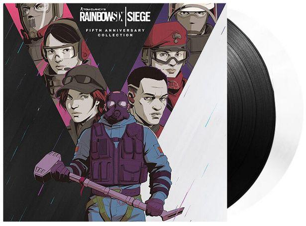 Vinyle Rainbow 6 Siege Fifth Anniversary 2lp  DIVERS  offre à 44,99€