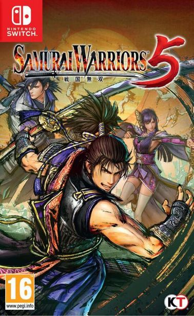 Samurai Warriors 5  SWITCH  offre à 69,99€