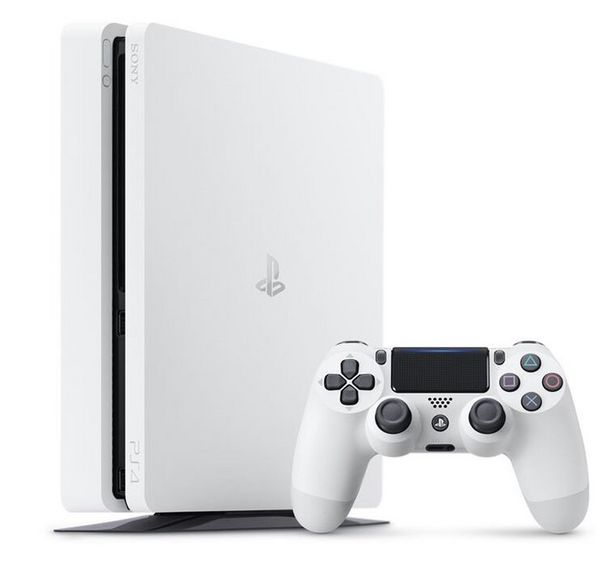 PlayStation 4 Slim Blanche 500 Go   offre à 249,99€