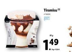 Tiramisu offre à 1,49€