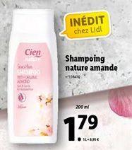 Shampoing nature amande offre à 1,79€