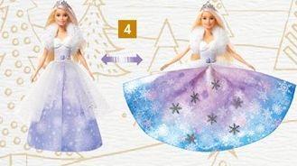Barbie Princesse flocons  offre à 26,99€