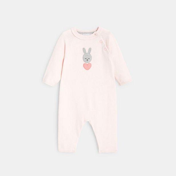 Combinaison longue tricot fin et lapin offre à 9,99€