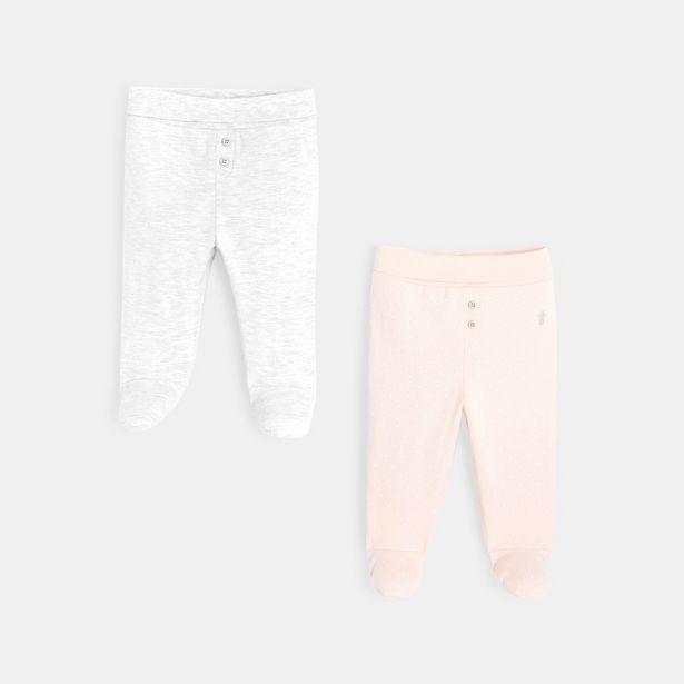 Pantalons maille à pieds (lot de 2) offre à 12,99€