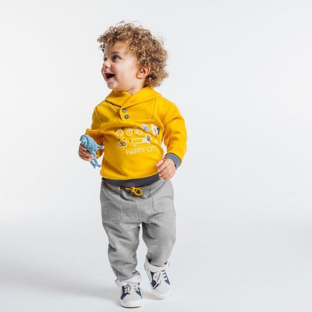 Pantalon maille pied de coq offre à 12,99€