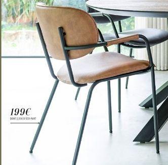 """Chaise Design """"Jolie"""" offre à 199€"""