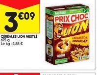 Céréales lion Nestlé offre à 3,09€