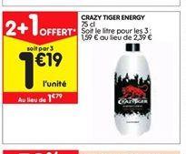 Crazy tiger energy offre à 1,19€