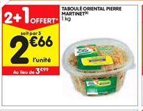 Salade Pierre Martinet offre à 2,66€