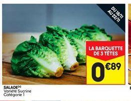Salade offre à 0,89€