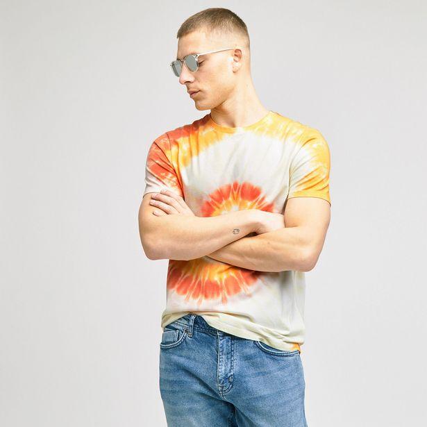 Tee-shirt tie and dye coton issu de l'agri bio offre à 10€