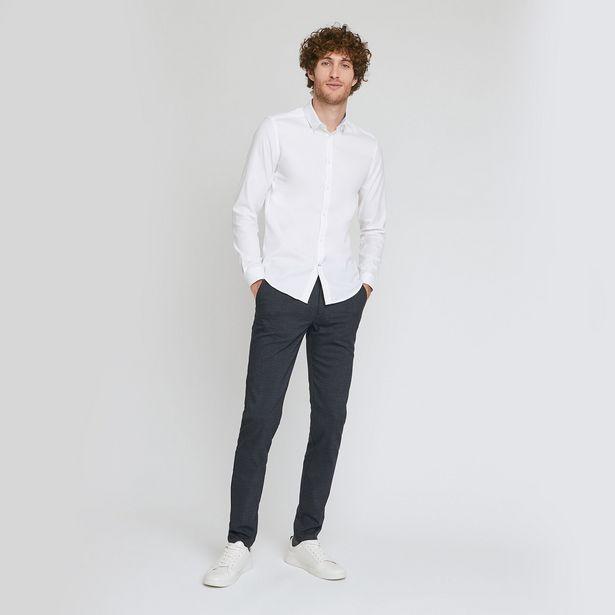 Pantalon chino à carreaux offre à 20€