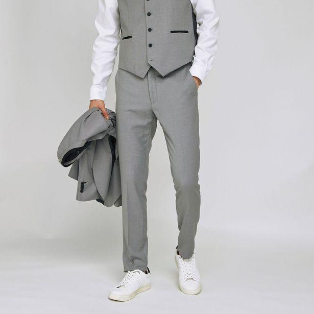 Pantalon de costume slim offre à 59,99€