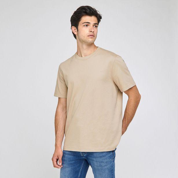 Tee-shirt PARFAIT BY JULES coton issu de l'agri bi offre à 8€
