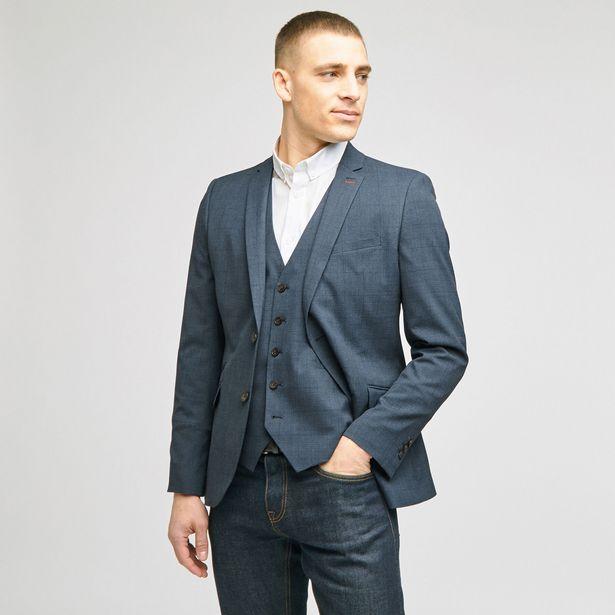 Veste de costume Prince de Galles slim offre à 129,99€