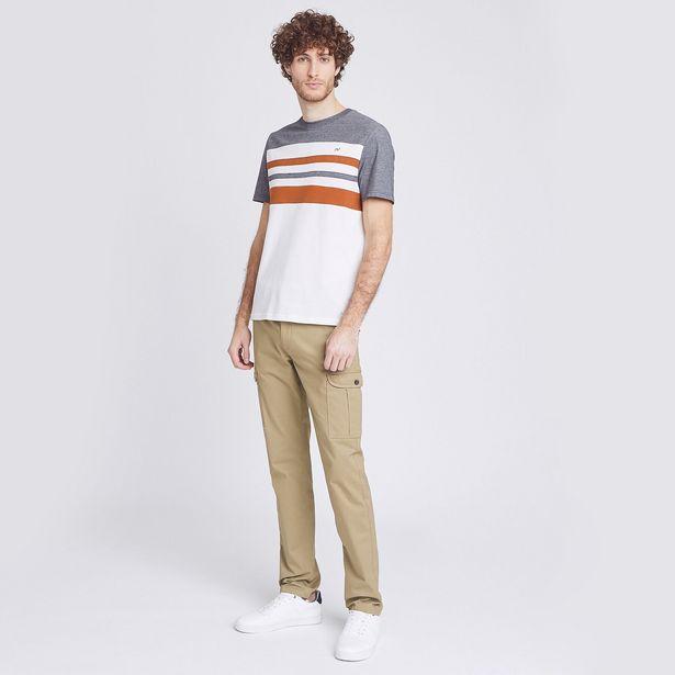 Pantalon cargo slim offre à 25€