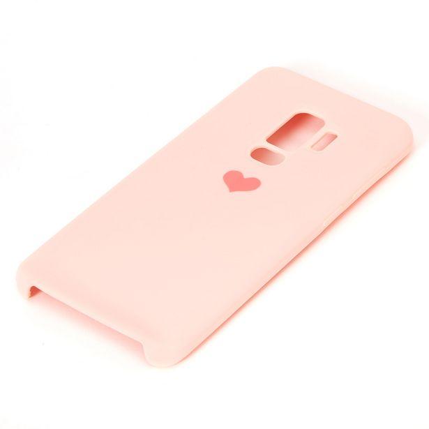 Coque de portable cœur rose - Compatible avec Samsung GalaxyS9 Plus offre à 3€