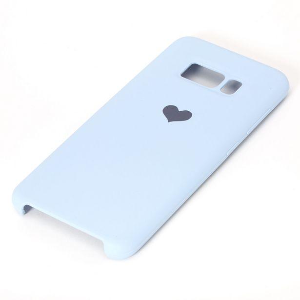 Coque de portable cœur bleu clair - Compatible avec Samsung GalaxyS8 offre à 5€