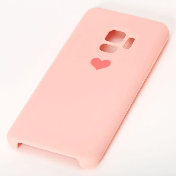Coque de portable cœur rose - Compatible avec Samsung Galaxy S9 offre à 3€