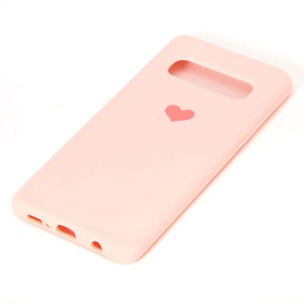 Coque de portable cœur rose - Compatible avec Samsung GalaxyS10 offre à 3€