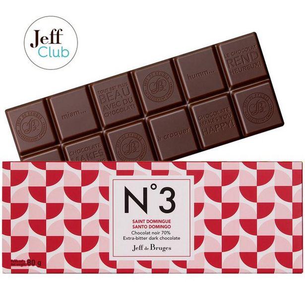 Tablette N°3 Chocolat noir 70% Saint Domingue offre à 3,9€