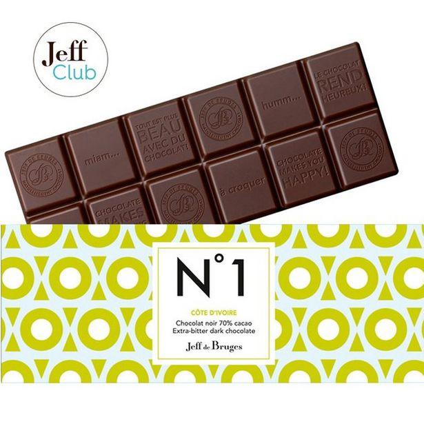 Tablette N°1 Chocolat noir 70% Côte d'Ivoire offre à 3,9€