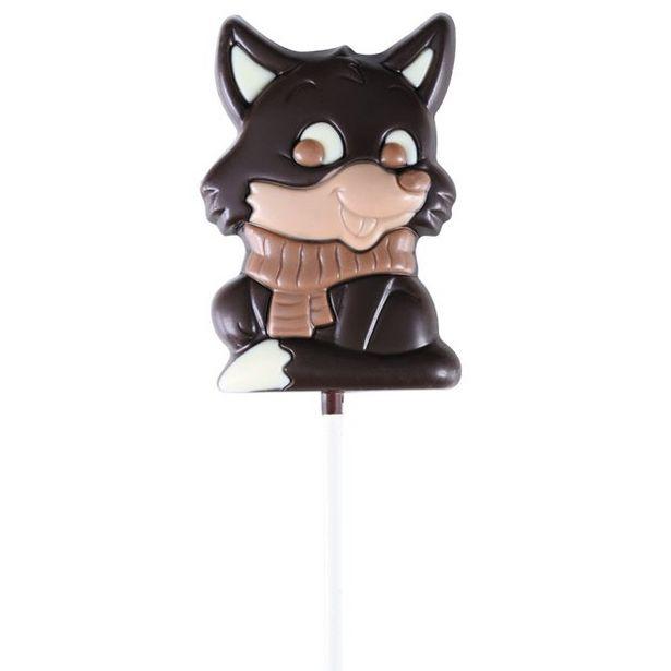 Choco'Cette Renard chocolat noir offre à 2,5€