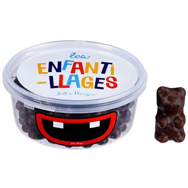 Boite PVC ours guimauve chocolat noir 160 g offre à 5€