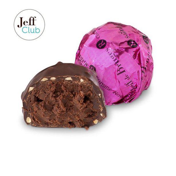 Rocher ganache de chocolat noir 70% offre à 2,6€