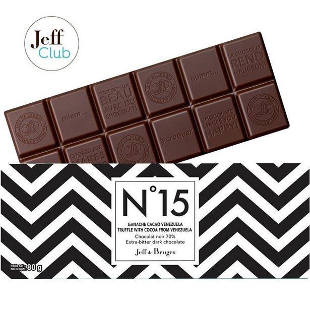 Tablette N°15 Ganache de chocolat noir 70% Venezuela offre à 3,9€