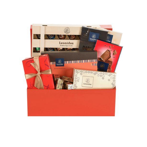 Leonidas Collection Paniers-Cadeau Rouge offre à 63,75€