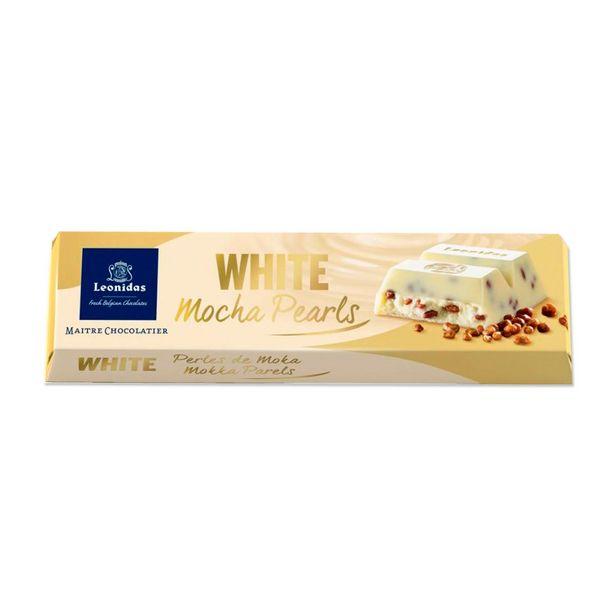 Leonidas Bâton Chocolat Blanc Perles De Moka, 5pcs offre à 9,5€