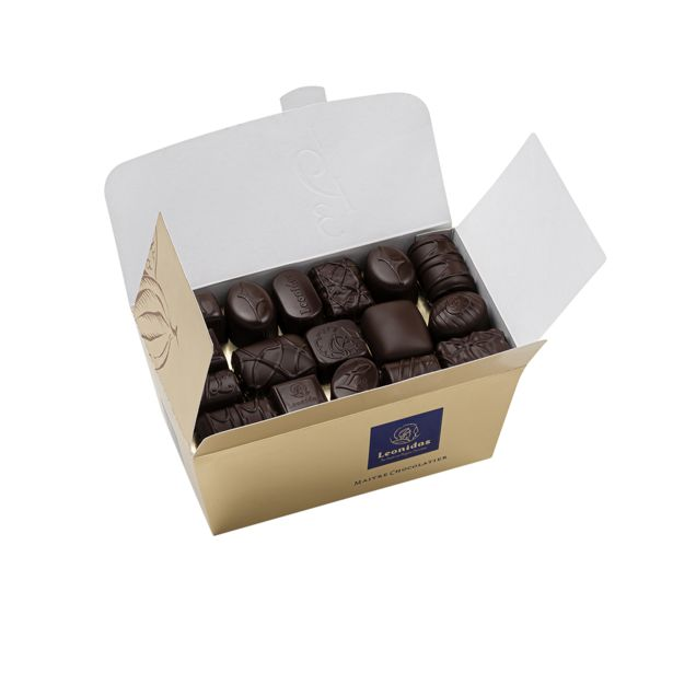 Leonidas Ballotin Chocolat Noir offre à 11,15€