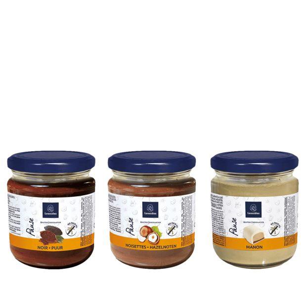 Leonidas Trio de Pâtes à tartiner offre à 23,7€