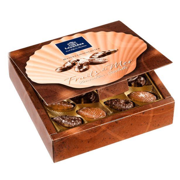 Leonidas Boîte Fruits de Mer L 455g offre à 30,9€