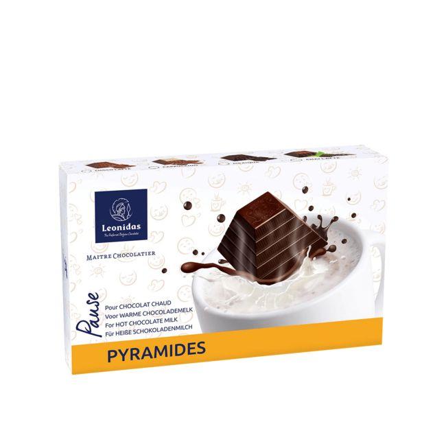 Leonidas Boîte 8 Pyramides Chocolat Chaud offre à 9,9€