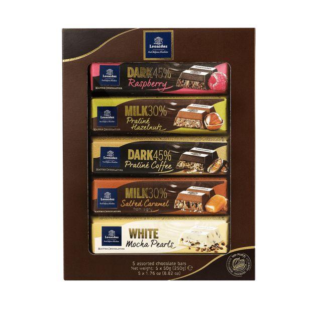 Leonidas Assortiment Bâtons en Chocolat, 5pcs offre à 12,9€